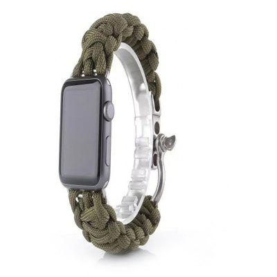 Outdoor Sport Schnalle Uhrenarmband für Apple Watch 42mm