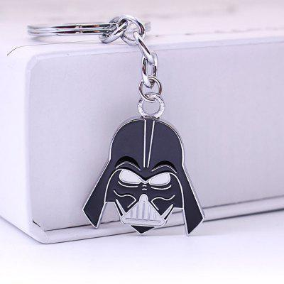 Keyring Pendant Decoration Warrior Shape Alloy Key Chain Movie Product