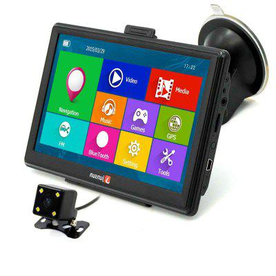 Junsun D100 Bluetooth AV Car GPS Navigator with Free Maps