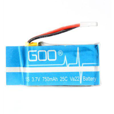 Remote Control Quadcopter Spare Parts 3.7V 750mAh Battery for Syma X5 2Pcs