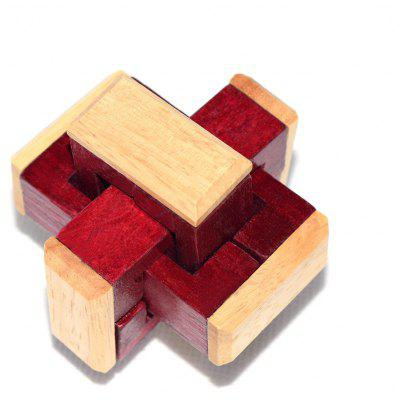 Maikou MK533 Unlock Puzzle Toy Wooden Three-dimensional Jigsaw