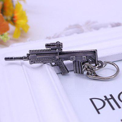 Keyring Weapon Model Pendant Decoration Rifle Metal Key ChainKey Chains<br>Keyring Weapon Model Pendant Decoration Rifle Metal Key Chain<br><br>Design Style: Other<br>Gender: Unisex<br>Materials: Metal<br>Package Contents: 1 x Key Chain<br>Package size: 6.40 x 2.00 x 13.00 cm / 2.52 x 0.79 x 5.12 inches<br>Package weight: 0.0120 kg<br>Product size: 6.50 x 2.50 x 0.50 cm / 2.56 x 0.98 x 0.2 inches<br>Product weight: 0.0100 kg<br>Stem From: South Korea<br>Theme: Military