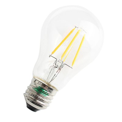 Zweihnder 400Lm E27 A60 4W COB LED Edison BulbEdison Bulbs<br>Zweihnder 400Lm E27 A60 4W COB LED Edison Bulb<br><br>Angle: 360 degree<br>Available Light Color: Warm White,White<br>Brand: Zweihnder<br>CCT/Wavelength: 3000-3500K,5500-6000K<br>Emitter Types: COB<br>Features: Long Life Expectancy, Energy Saving<br>Function: Studio and Exhibition Lighting, Home Lighting, Commercial Lighting<br>Holder: E27<br>Luminous Flux: 400LM<br>Output Power: 4W<br>Package Contents: 1 x Zweihnder LED Edison Bulb<br>Package size (L x W x H): 11.50 x 6.80 x 6.80 cm / 4.53 x 2.68 x 2.68 inches<br>Package weight: 0.050 kg<br>Product size (L x W x H): 10.50 x 5.80 x 5.80 cm / 4.13 x 2.28 x 2.28 inches<br>Product weight: 0.030 kg<br>Sheathing Material: Glass<br>Total Emitters: 4<br>Type: Edison Bulb<br>Voltage (V): AC 220-240