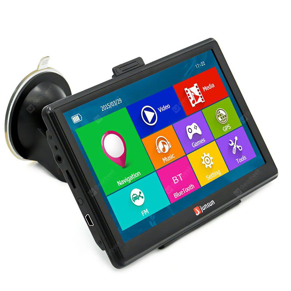 Junsun D100 Bluetooth Car GPS Navigator with Free Maps