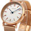 JULIUS 867 Lettera Pointer Business Style Lady Quartz Watch - BIANCO
