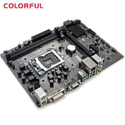 Original Colorful C.H110M - K Micro ATX Motherboard