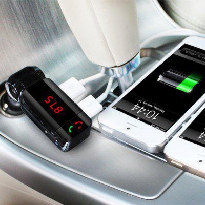 BC06S Bluetooth Car FM TransmitterFM Transmitters &amp; Players<br>BC06S Bluetooth Car FM Transmitter<br><br>Bluetooth Version: Bluetooth V3.0<br>Color: Black<br>Operation distance: 10m<br>Package Contents: 1 x Car Bluetooth FM Transmitter Charger, 1 x Audio Cable, 1 x User Manual<br>Package size (L x W x H): 17.00 x 8.00 x 5.00 cm / 6.69 x 3.15 x 1.97 inches<br>Package weight: 0.110 kg<br>Product size (L x W x H): 14.10 x 5.20 x 2.60 cm / 5.55 x 2.05 x 1.02 inches<br>Product weight: 0.050 kg