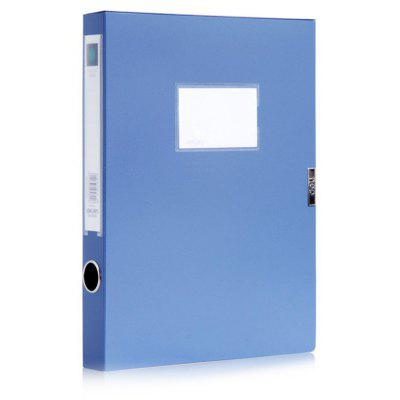 Deli A4 Plastic PP Archive File Data Storage Box Office Stationery