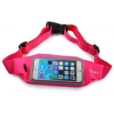 ROMIX WB01 Adjustable Running Band Mobile Phone Waist Bag for Outdoor Activities