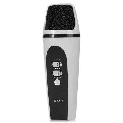 Micro-enregistreur vocal MC-919 Mini-enregistreur vocal Karaoke Singing Enquipment