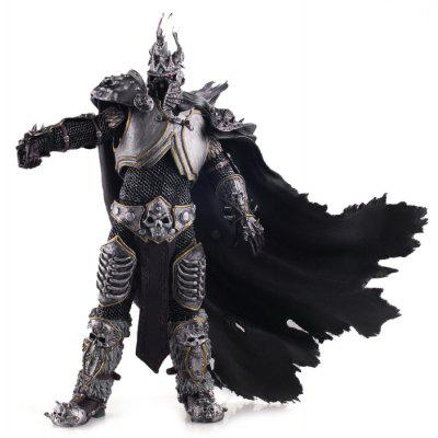 PVC + ABS Static Online Role-playing Game Figurine Character Model Home Office Decor - 11 inch