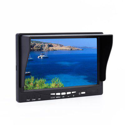 T - RS2000FPV Antenne 7 Zoll 5.8GHz 32 Kanal Auto Suche Display Monitor Multicopter Getriebe Fittings