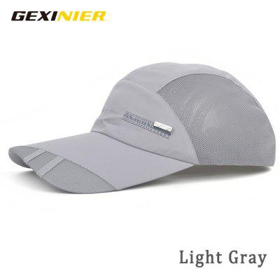 GEXINER Unisex Quick-drying Mesh Visor Hat