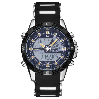 ASJ b002 Analog-digital Display Male Quartz Watch