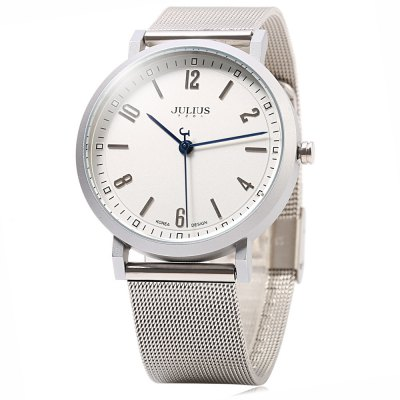 JULIUS 867 Lettera Pointer Business Style Lady Quartz Watch