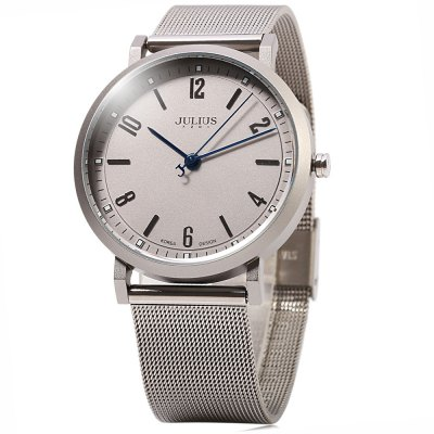 JULIUS 867 Letter Pointer Business Style Lady Quartz Watch