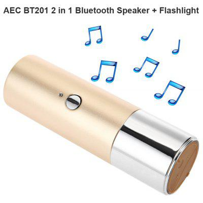 AEC BT201 2 in 1 Mobile Bluetooth Speaker / Flashlight