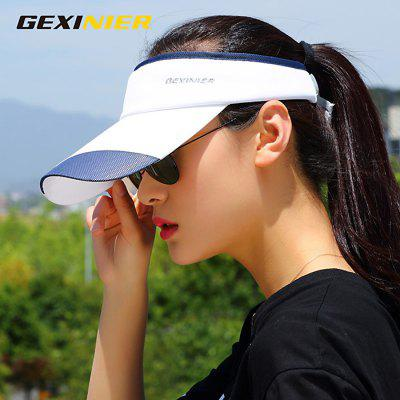 GEXINER Unisex Sunscreen Empty Top Hat