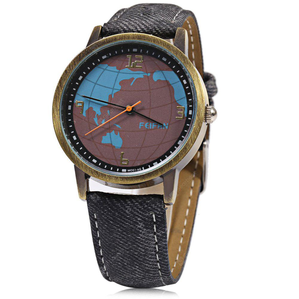 FeiFan M051 - 6 Casual Men Quartz Watch with Tellurion Pattern