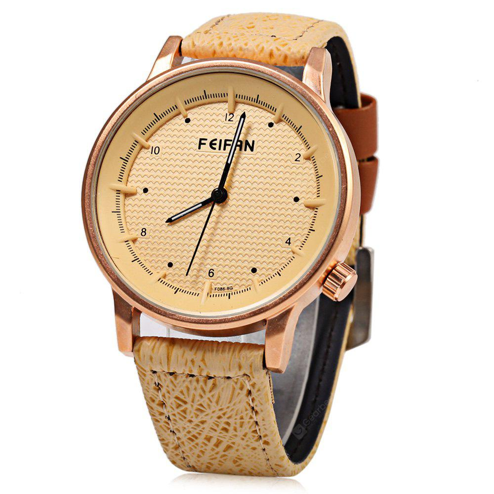 FeiFan F086 - 8 Fashion Grid Pattern Men Quartz Watch