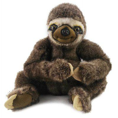 Anime Sloth Shape Plush Toy - 9.8 inch