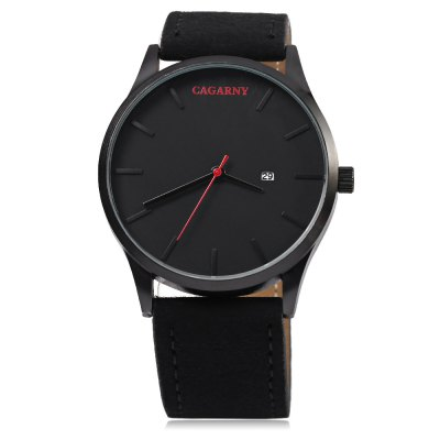 CAGARNY 6850 Business Style Men Quartz WatchMens Watches<br>CAGARNY 6850 Business Style Men Quartz Watch<br><br>Band material: Leather<br>Band size: 26.5 x 2.4 cm / 10.43 x 0.94 inches<br>Brand: Cagarny<br>Case material: Stainless Steel<br>Clasp type: Pin buckle<br>Dial size: 4.5 x 4.5 x 1 cm / 1.77 x 1.77 x 0.39 inches<br>Display type: Analog<br>Movement type: Quartz watch<br>Package Contents: 1 x CAGARNY 6850 Business Style Men Quartz Watch<br>Package size (L x W x H): 27.50 x 5.50 x 2.00 cm / 10.83 x 2.17 x 0.79 inches<br>Package weight: 0.0870 kg<br>Product size (L x W x H): 26.50 x 4.50 x 1.00 cm / 10.43 x 1.77 x 0.39 inches<br>Product weight: 0.0470 kg<br>Shape of the dial: Round<br>Special features: Date<br>Watch color: Black, Coffee, Black + Silver, Brown + Silver, Coffee + Silver<br>Watch style: Business<br>Watches categories: Male table<br>Water resistance: Life water resistant<br>Wearable length: 19.5 - 24.5 cm / 7.68 - 9.65 inches