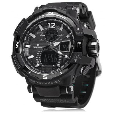 HENGZHENG HZ490 3ATM Uomo LED Sport Watch