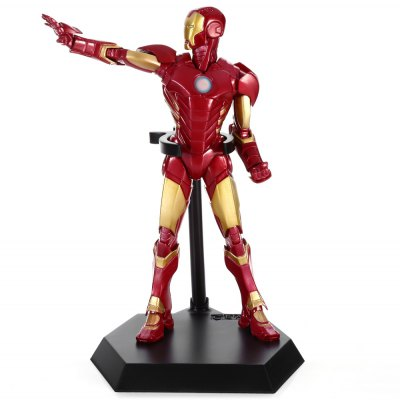 PVC + ABS Hero Action Figure Anime Character Model Home Office Decor - 9.4 inch