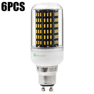 6 x Sencart GU10 12W 1200LM 138 SMD4014 LED Corn Light