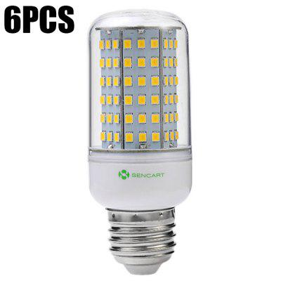 6pcs Sencart 126 x SMD2835 1350Lm E27 14W LED Corn Light