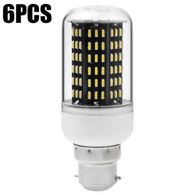 6 x Sencart B22 12W 1200LM 138 SMD4014 LED Corn Light