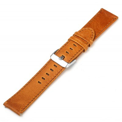 21cm Leather Watch Band for Samsung Gear S2