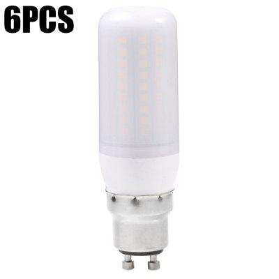 6pcs Sencart 12W 1200Lm GU10 102 x SMD2835 Frosted LED Corn Light