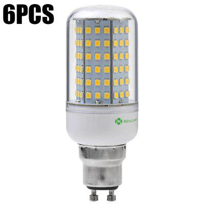 6pcs Sencart 14W 126 x SMD2835 1350Lm GU10 LED Corn Light