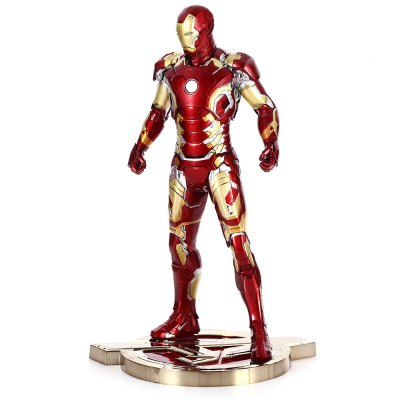 PVC + ABS Action Figure with Light Anime Character Model Home Office Decor - 12.5 inch