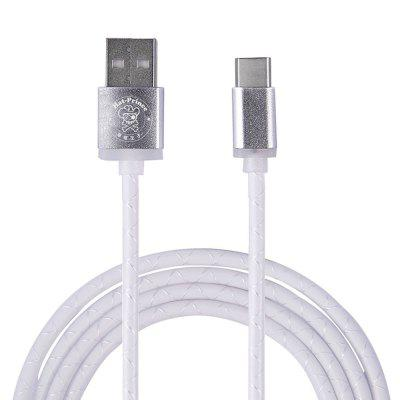 Hat - Prince USB to Type-C Charging and Data Sync Cable 1m