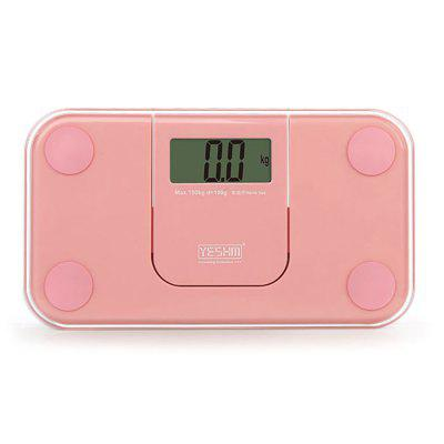 Buy PINK YESHM YHB1007 Portable Body Fat Scales for $14.47 in GearBest store