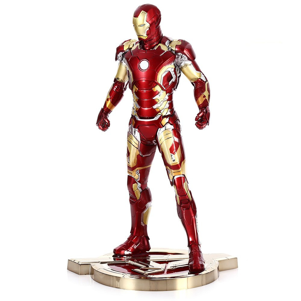 PVC + ABS Action Figur mit Licht Anime Charakter Modell Home Office Decor - 12,5 Zoll