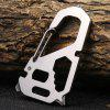 Sanrenmu SK025Z Multifunctional Tool Key Chain for Outdoor - SILVER