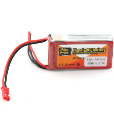 ZOP Power 11.1V 450mAh 35C Li-Po Battery for RC Multicopter