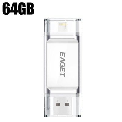 Eaget i60 64GB 2 in 1 OTG USB 3.0 Flash Drive