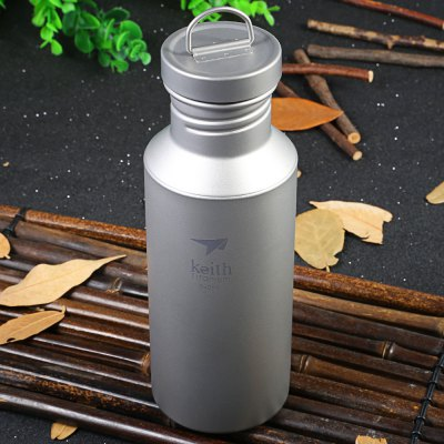 Keith Ti3031 550mL Titanium Sport Bottle for Outdoor