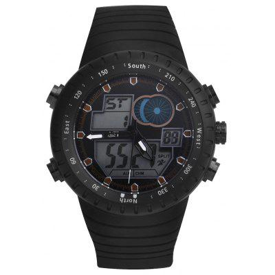 ASJ b062 Dual Movt Men Quartz + Digital Watch