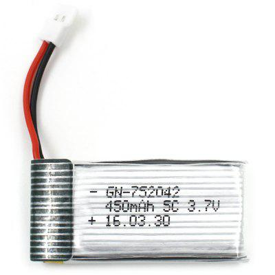Original Gteng 3.7V 450mAh Transmitter Battery Quadcopter Accessory for T901F / T901C