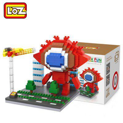 LOZ 500Pcs Cartoon Building Block Educational Decoration Toy for Spatial Thinking