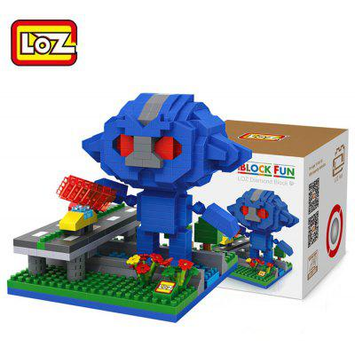 LOZ 490Pcs Cartoon Building Block Educational Decoration Toy for Spatial Thinking