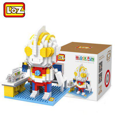 LOZ 550Pcs Cartoon Building Block Educational Decoration Toy for Spatial Thinking