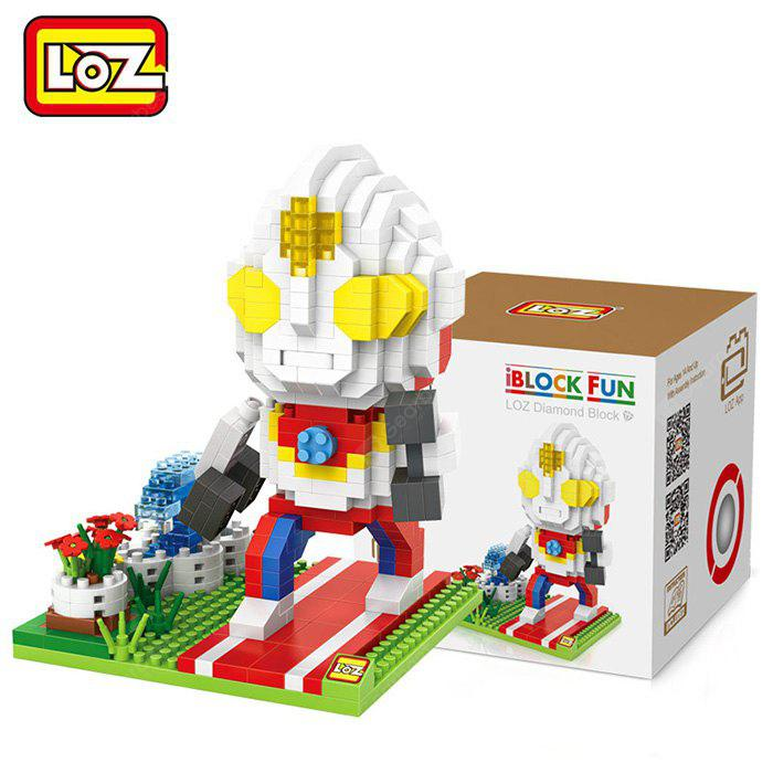 Buy LOZ Building Block Educational Decoration Toy Spatial Thinking - 55COLORMIX