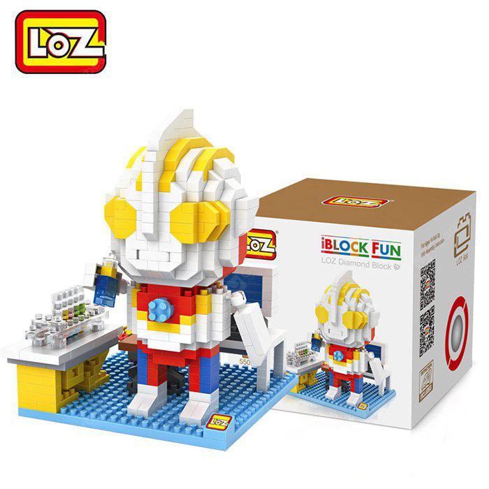 Buy LOZ 55Cartoon Building Block Educational Decoration Toy Spatial Thinking COLORMIX