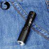 UKing ZQ - X900 600Lm Cree Q5 Zooming Compact LED Flashlight - GOLDEN